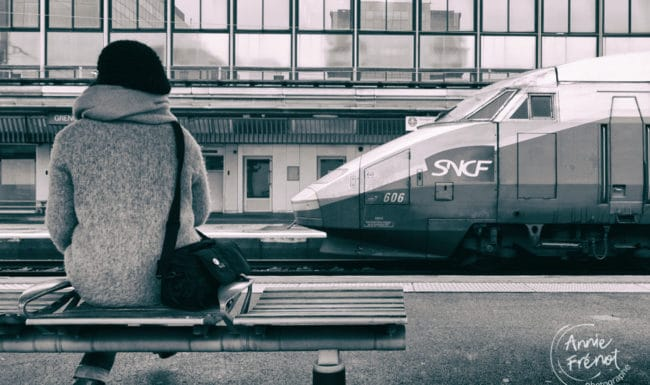 photo d'ambiance gare