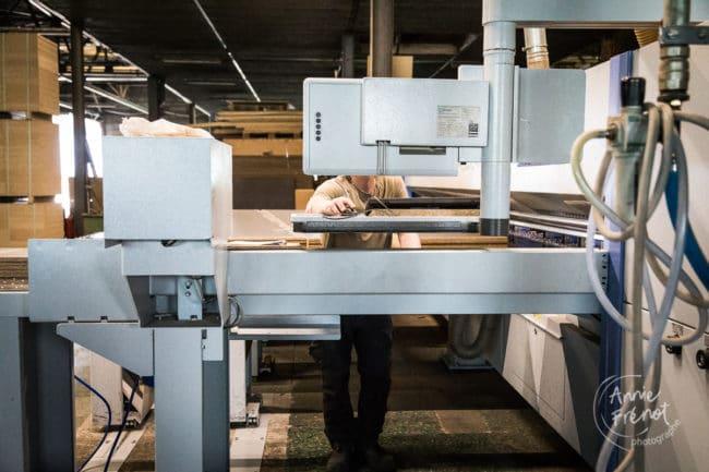 usine de transformation du bois Saint Nabord