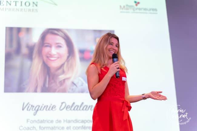 Un temps fort de notre convention nationale 2019: le discours de la marraine de notre événement, Virginie Delalande