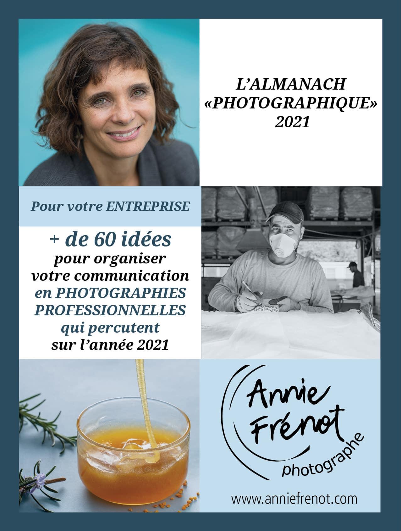 Almanach photographique Annie Frénot