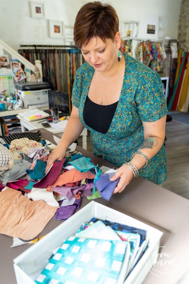 reportage entreprise atelier couture